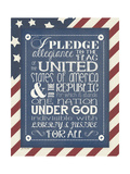 Pledge of Allegiance Prints by Jo Moulton