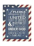 Pledge of Allegiance Prints by Jo Moulton