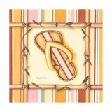 Bamboo Flip Flop IV Prints by Kathy Middlebrook