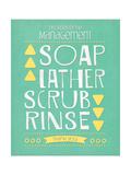 Soap Prints by Jo Moulton