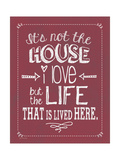 Not the House (Winterberry) Posters by Jo Moulton