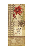 Floral Collage I Prints by Jo Moulton