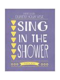 Sing Print by Jo Moulton