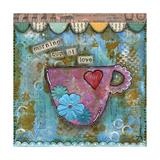 Morning Cup of Love Poster von Denise Braun