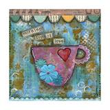 Morning Cup of Love Poster von Denise Braun