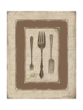 Forks Poster by Jo Moulton