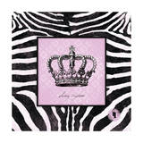 Zebra Crown I Prints by Stephanie Marrott
