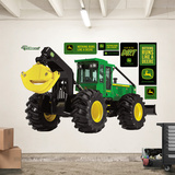 John Deere 648H Grapple Skidder Wall Decal