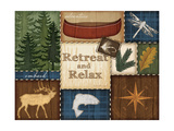 Retreat and Relax Posters by Jennifer Pugh