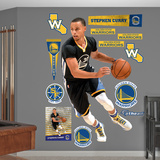 Stephen Curry - Point Guard Wall Decal