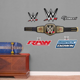 WWE Title Belt - Fathead Jr Wall Decal