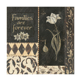 Families are Forever Print by Jo Moulton
