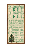 O Christmas Tree Print by Stephanie Marrott