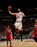 Chicago Bulls v Miami Heat Photo by Issac Baldizon