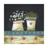 Country Floral Premium Giclee Print by Jo Moulton