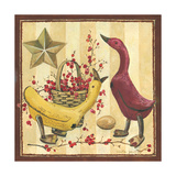 Wooden Ducks I Prints by Anita Phillips