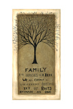 Family Tree Prints by Cindy Shamp