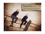 Cowboy Reason II Posters by Shawnda Craig