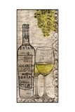White Wine Poster by Lisa Wolk