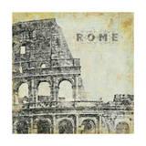 Roma Póster por Stephanie Marrott