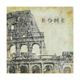 Rome Poster by Stephanie Marrott