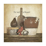 Blessed Nest Premium Giclee Print by Jo Moulton