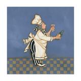 Wine Chef Prints by Stephanie Marrott