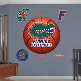 Florida Gators Basketball Logo Wall Decal
