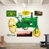 John Deere 1935 Model B Tractor Wall Decal