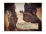Cowboy III Affiches par Shawnda Craig