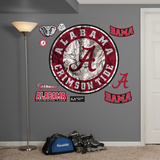 Alabama Crimson Tide Realtree Logo Wall Decal