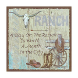 Ranch Posters by Anita Phillips