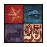 Holiday Patch II Prints by Stephanie Marrott