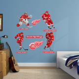 Detroit Red Wings Power Pack Wall Decal