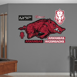 Arkansas Razorbacks Realtree Logo Wall Decal