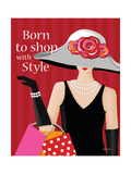 Born with Style Prints by Kathy Middlebrook