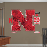 Nebraska Cornhuskers Realtree Logo Wall Decal