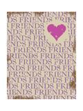 """Vänner, """"Friends"""" Planscher av Anna Quach"""