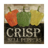 Crisp Bell Peppers Art by Jennifer Pugh