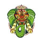 Totem Animal.Elephant Print by  worksart