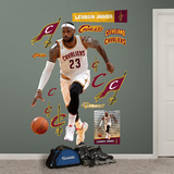 LeBron James - Forward Wall Decal