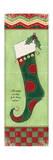 Stocking I Art by Stephanie Marrott