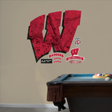 Wisconsin Badgers Realtree Logo Wall Decal