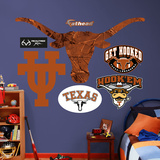 Texas Longhorns Realtree Logo Wall Decal