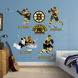 Boston Bruins Power Pack Wall Decal