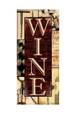 Wine Essentials Print by Lisa Wolk