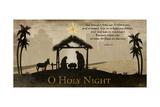 Oh Holy Night Plakater af Jennifer Pugh