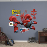 SpongeBob Movie: Sir Pinch-a-Lot Wall Decal