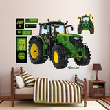 John Deere 6210R Tractor Wall Decal