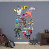 Sponge Out of Water Superheroes Collection Wall Decal